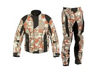 Camo Textile Motorbike Suit, Brand new any size, any colour!