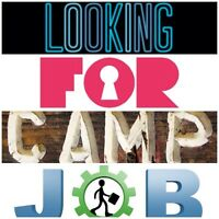 Interested in CAMP JOB: housekeeping/attendant/janitorial