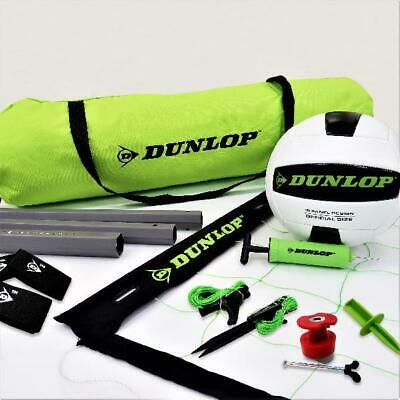 Dunlop Quick Setup Competitive Volleyball Set with Carry Bag, Volleyball New