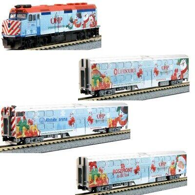 Kato 106-2016 N 2016 Operation North Pole Christmas Train 4-Unit Set
