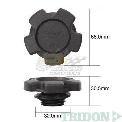Tridon Oil Cap For Suzuki Ignis Rg413  Rg415 01 00 02 05 4 1 3L  1 5L