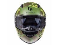 BRAND NEW MT MOTORCYCLE HELMET