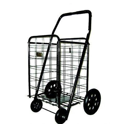 Extra Large Heavy Duty Shopping Carts Grocery Laundry Oversized Folding Cart