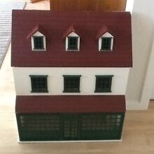 Dolls house plus wooden furniture  Hobart Region Preview