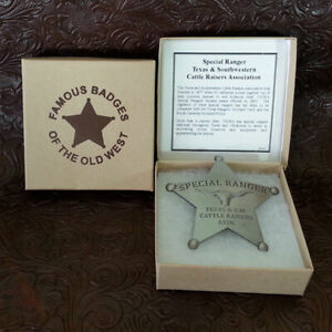 Special Ranger Badge--Texas--Free Gift With Purchase