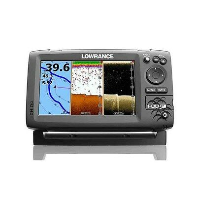 Lowrance Hook-7 DSI CHIRP Marine GPS Fishfinder/Chartplotter w/ Transducer