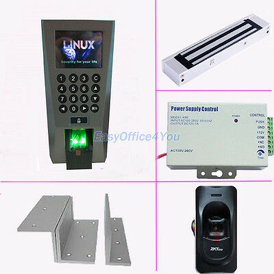 Full Access Control Kits For Inout Biometric Fingerprintpower Supplymag Lock
