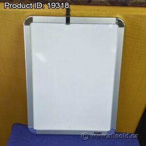 "8.5"" x 11"" Magnetic Memo Whiteboard"