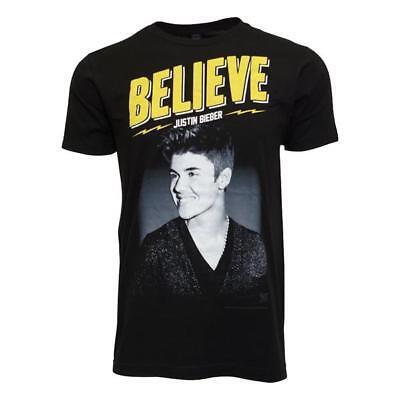 Justin Bieber Live Tour Men Black T Shirt Us Sizes
