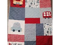 Baby cot covers and bumper