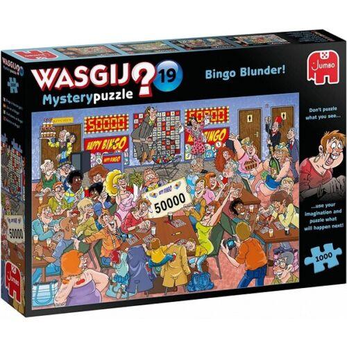 Jumbo 1000 Piece Jigsaw Puzzle - Wasjig Mystery 19 Bingo Blunder