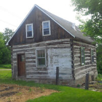 Century Old Log Home for Sale