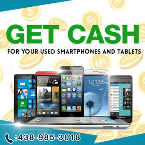 I'LL BUY YOUR USED/NEW  IPHONE, SAMSUNG, GOOGLE PIXEL, TABLET +