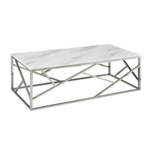 CHEAP MARBLE COFFEE TABLE (XC2302)