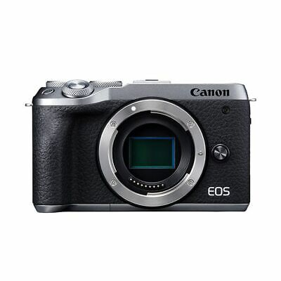 Near Mint! Canon EOS M6 Mark II Body Silver - 1 year warranty