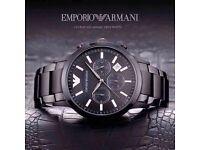 EMPORIO ARMANI CERAMIC brand new watch