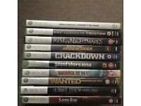 Xbox 360 games joblot