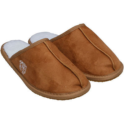 Chicago Bears Men's HIGH END SCUFF SLIPPERS S 7-8  NEW LAST PAIR - Mens Chicago Bears End