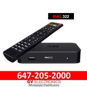 MAG IPTV BOX 254-256-322-322w1-410 《WHOLESALE ONLY》