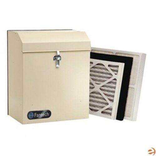 """Fantech 240 CFM - HEPA Air Filter - 8"""" Duct - Collar Mount"""