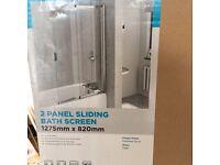 Sliding Bath Shower Screen
