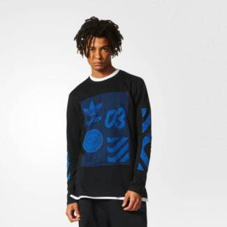 BRAND NEW WITH TAGS | MEN'S ADIDAS ORIGINALS NYC LONG SLEEVE TEE
