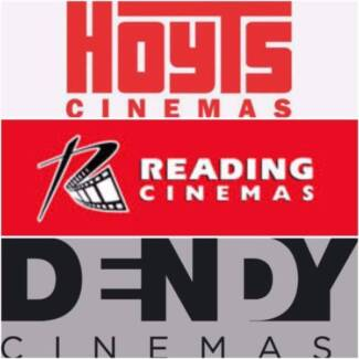 Bargain Movie Ticket (Hoyts,Event,Village,Dendy,Palace & more )