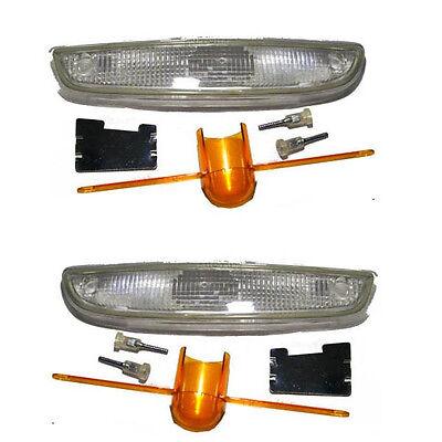 für Renault Twingo Blinker-Set weiß 1993-1998 links und rechts