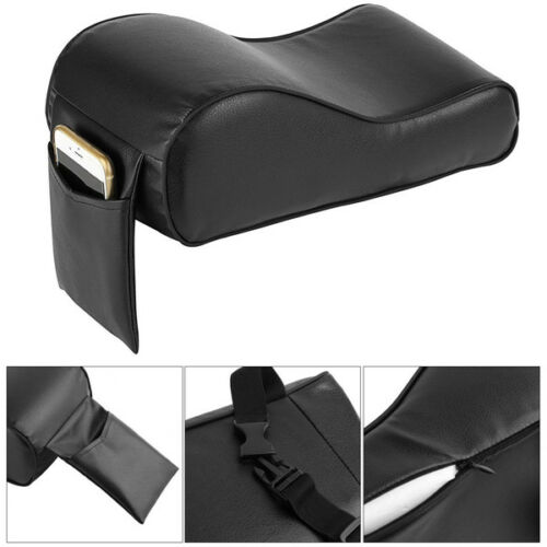 Armrest Pad Car Cushion Mat Covers Interior Parts with Cell Phone Pocket Useful