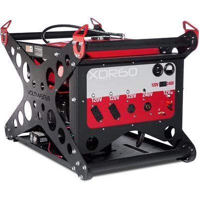 Voltmaster Xdr60el - 5500 Watt Electric Start Portable Diesel Generator