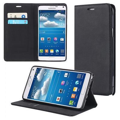 Samsung Galaxy Note 4 SM-N910F Handy-Tasche Flip Cover Book Case Schutz-Hülle