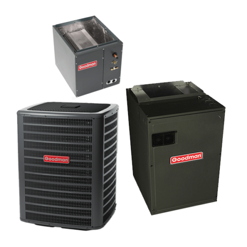 2 Ton 19 Seer Goodman Air Conditioning System