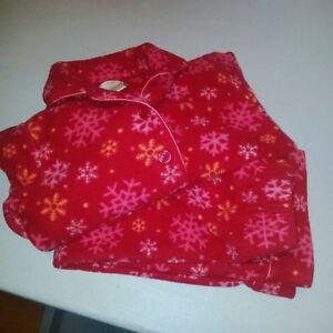 Girls 4/5 Fleece Pajamas