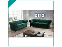 🎉💕CLEARANCE STOCK MUST GO🎉💕BRAND NEW STYLISH DESIGN CHESTERFIELD SOFA 🎉💕AVAILABLE IN STOCK🎉💕