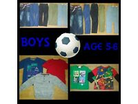 Boys Brand Name Clothing Bundle age 5-6 - Ben Sherman River Island Debenhams Next ETC