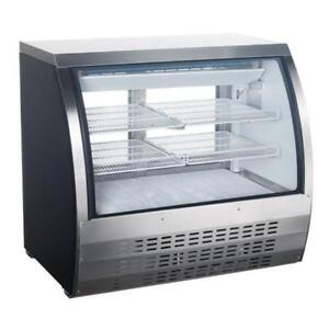 New Omcan Refrigerated Display Cases - Deli Merchandisers