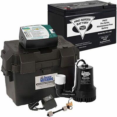 Basement Watchdog Special Connectreg Backup Sump Pump 1850 Gph 10 W M...