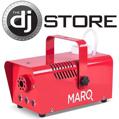MARQ Lighting FOG 400 LED (Red) Quick-Ready Water-based Fog Machine (BRAND NEW)