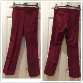 Joseph TROUSERS wool blend - soft and velvety fabric