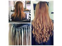 Starting from £190 -Keratin Bonds,Micro Rings,Nano Ring-100%Remy/Brazilian Hair Extensions-Cut&Blend