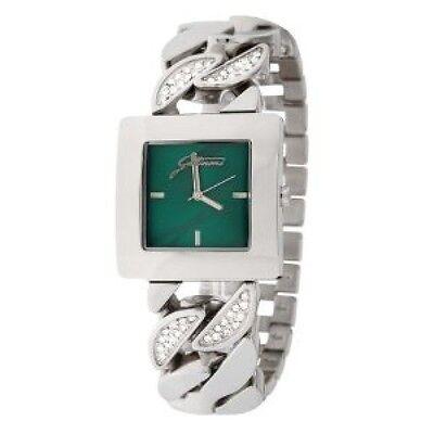 Gattinoni Women's W0157GSSGRN Shedar Sunray Green Dial swarovski crystals Watch  ()