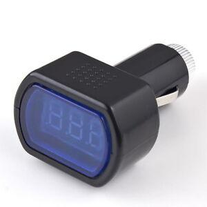 LED Display Digital Auto Car Volt Meter Monitor Vehicle Voltage Gauge 12V/24V OK