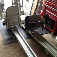 2 stair lifts