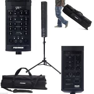 One of the best sounding portable PA's for solo artist.