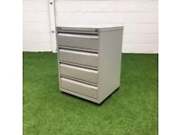 Bisley Multi Drawer Filing Cabinet Grey 1 available
