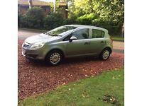 Silver 1.2 5 door Vauxhall Corsa 'S'.