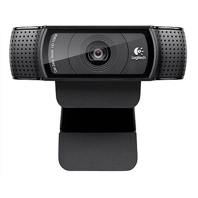 Logitech C920 HD Pro Webcam 1080p Widescreen Video Calling & Recording for PC on Rummage
