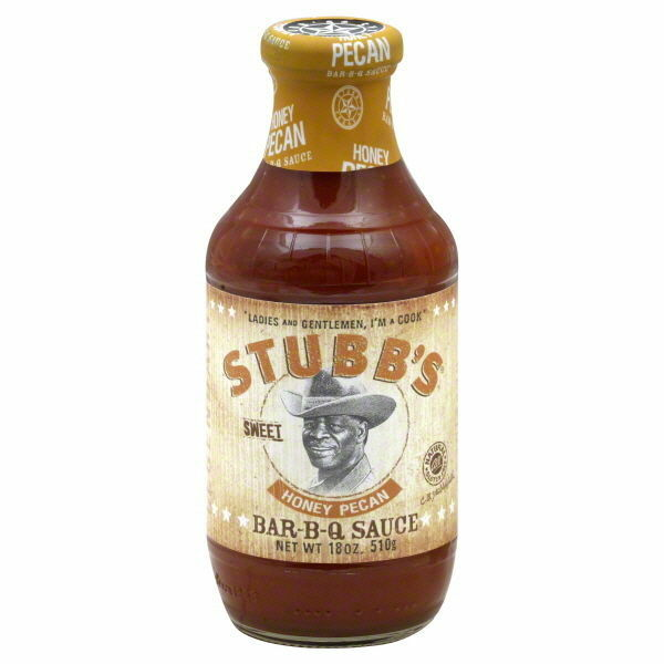 Stubb's Miele Pecan BBQ Salsa 532,3 ml 510g Stubbs