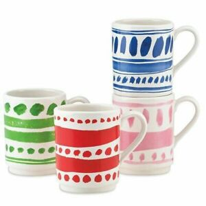 Kate Spade New York All in Good Taste Pretty Pantry 4-piece Mug