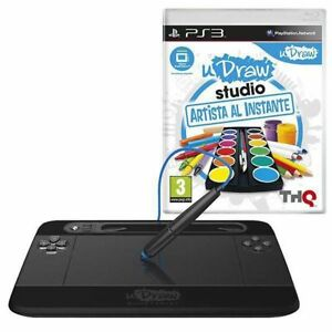PS3  UDRAW with extra pictionary game  NEW never used